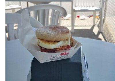 Breakfast Sandwich With Ham